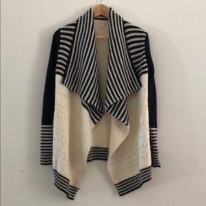 Gap waterfall cardigan knit sweater